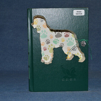 Irish Water Spaniel Upcycled Book - 002