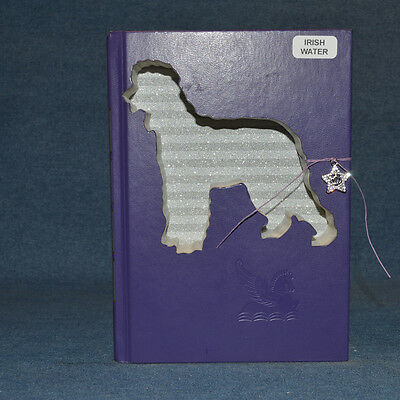 Irish Water Spaniel Upcycled Book - 003