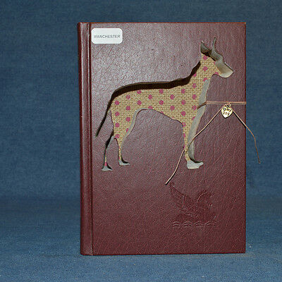 Manchester Terrier Upcycled Book - 003