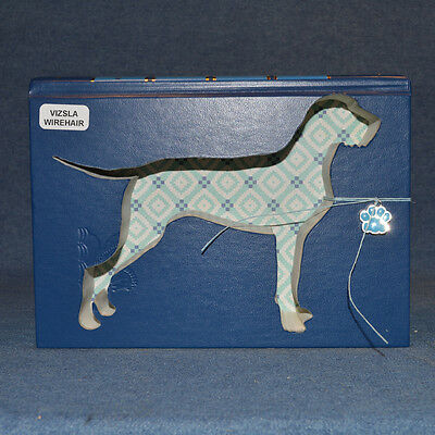 Wirehaired Vizsla Upcycled Book - 001