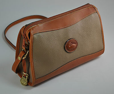 COOL CLASSIC Vintage DOONEY & BOURKE Vintage Leather Tote Bag- X-Body Travel Bag