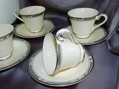 Royal Doulton Melissa  Set Of 4 Cup & Saucers