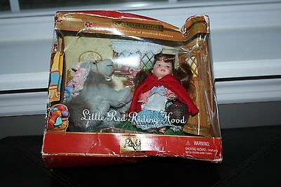Barbie~~Kelly Little Red Riding Hood & Wolf Doll Set~Collector Edition ~Nib