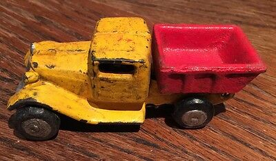 """Toy Dump Truck cast iron toy car. 1930's . 4"""" inch"""