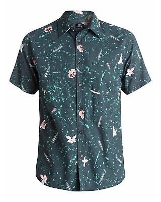 NEW QUIKSILVER™  Mens Sweet and Sour Short Sleeve Shirt Tops