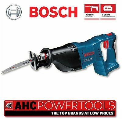 Bosch GSA18V-LI N 18v Li-ion Reciprocating Sabre Saw - Body Only