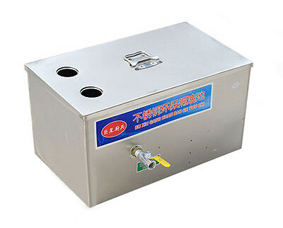 Stainless Steel Grease Trap Interceptor for Restaurant Kitchen Wastewater