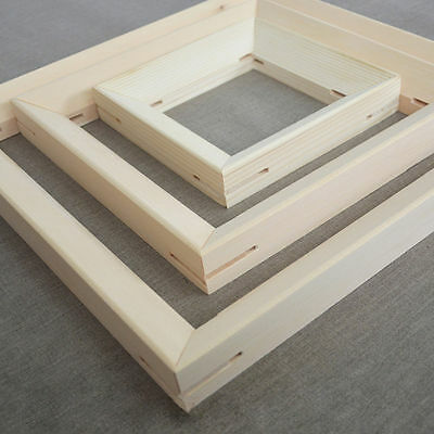 Any Size Custom Wood Bar Canvas Gallery Wrapped Stretcher Sturdy Frame Strips