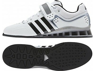 Adidas adiPower Weightlifting Shoes - White - FREE P&P