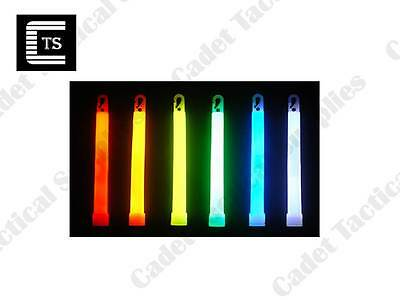 Red/Green/Orange/Blue,White Light Sticks, 6 Inch, 12 Hour, 26014