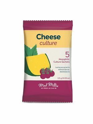Mesophilic Culture For Cheese Making x 5 Sachets - By MAD MILLIE