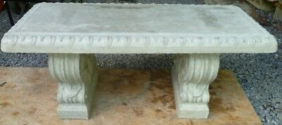 Cement Concrete Bench Mold Full Size Bench top Mold made from 1/8""