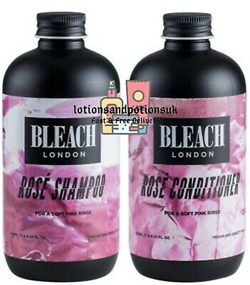 Bleach London Rose Shampoo 250ml And Conditioner 250ml - 1ST CLASS POST!