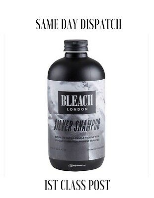 Bleach London Silver Shampoo - 250ml - 1ST CLASS POST