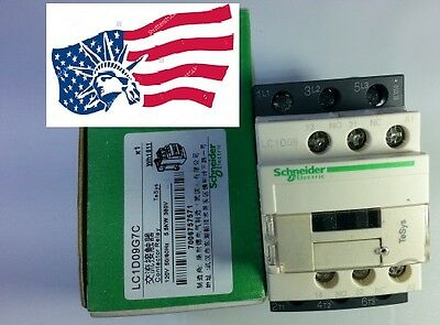 New Schneider LC1D09G7C Contactor  With Coil 120VAC