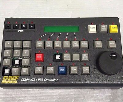 DNF Controls ST300 VTR / DDR Slow Motion Controller S/N 10754