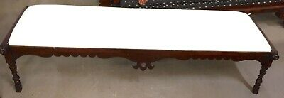 Antique French Long Bench | Converted Baby Walker | 1800s