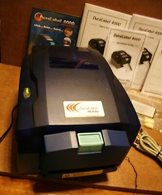 Graphic Products DuraLabel 4000 DL41021142 Label and Sign Printer Bundle