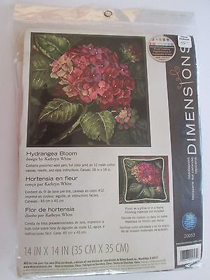Dimensions Needlepoint Kit Hydrangea Bloom D20053