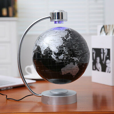 8''Magnetic Levitating Globe Anti-Gravity Floating Rotate Earth Gift For Friend