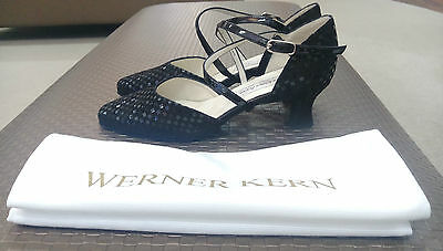Werner Kern Quadrantini Schwarz - Patty Women's Ballroom Shoes size 6 UK