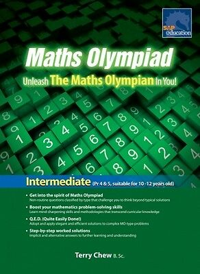 SAP Maths Olympiad Intermediate Revised Edition| Year: 6, 7