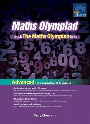 SAP Maths Olympiad Advanced Revised Edition | Year: 6, 7, 8