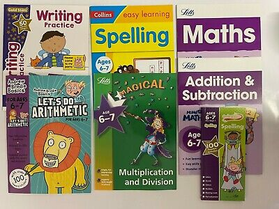 Wipe-Clean Letters & Writing Practice Pack of 10 books Kids Age 3+ Pen Include
