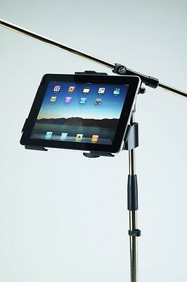 K&M iPad Holders - Mic stand mounts for holding tablet [Konig & Meyer] universal