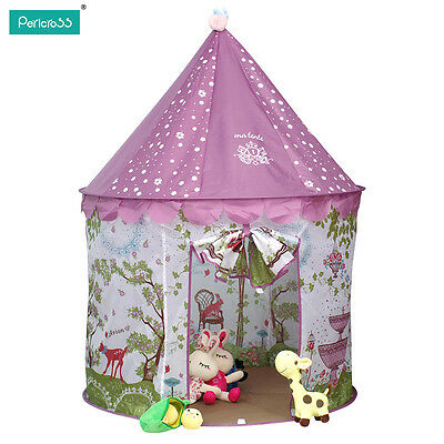 New Tent Playhouse Canopy Princess Castle Kids Girls Toys Play House Room