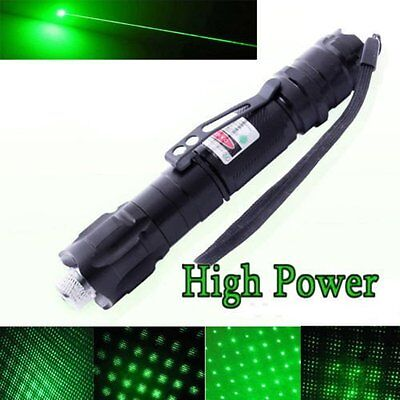 Military 532nm 009 Professional 1MW Power Green Laser Pointer Light Pen Lazer Be
