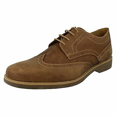 Anatomic & Co Tucano 565626 Cognac Mustang Leather Lace Up Brogue Shoes