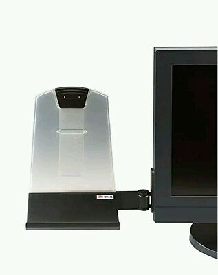 3M Flat Panel Mounted Copy Holder, 35 Sheet Capacity (DH445) STRIPS NOT IN BOX