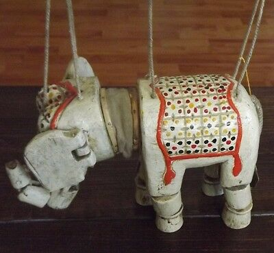 German Made Toy Marionette Elephant