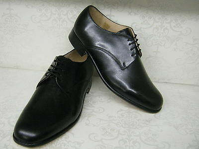 Mens Grenson Templemeads Black Leather Lace Up Fit G