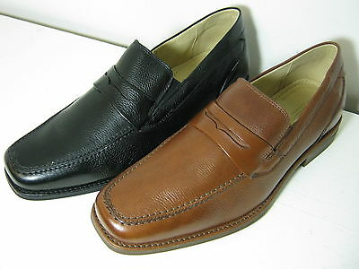 Mens Anatomic & Co Barbosa Leather Slip On Shoes