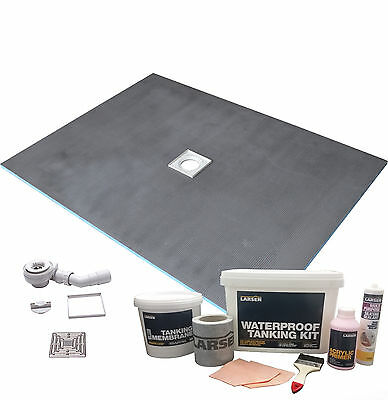 Wet Room Wetroom Shower Tray Kit All sizes available (LRSN)