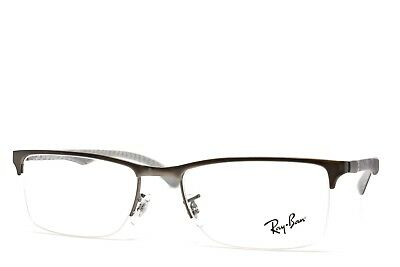 38bf401433 RAY-BAN CARBON 8413 2851 New Authentic eyeglasses 54-18-145 no case ...