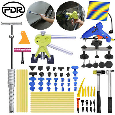 UK PDR Tools Paintless Dent Removal Hail Lifter Puller Slide Hammer Glue Gun Kit