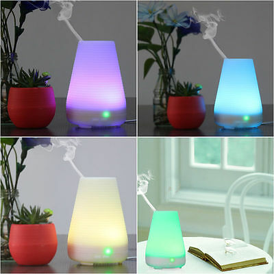 LED Ultrasonic Air Humidifier Purifier Essential Oil Aromatherapy Aroma Diffuser