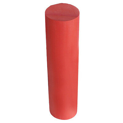New Red Yoga Foam Roller Pilates Massage Exercise Fitness Smooth Surface PK