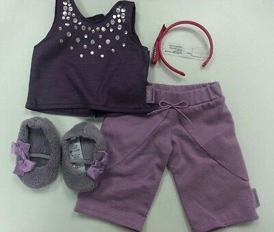 New American Girl -  2014 Isabelle's Pajamas FULL Set for Doll's Size