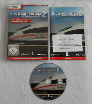 Pro Train Perfect 2 für PC - CIB - Komplett !