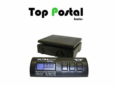 ULTRASHIP 34kg Digital Parcel Postal Weighting Scales Shipping Post + Adapter