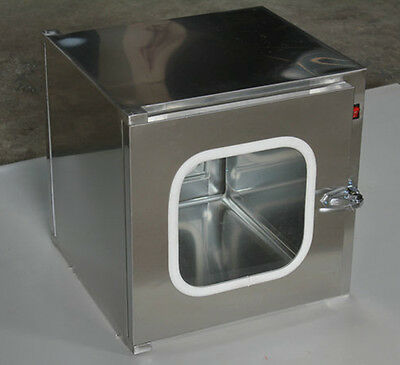 Stainless Steel Cleanroom Tech Pass Through Cleanroom Eauipment 220V