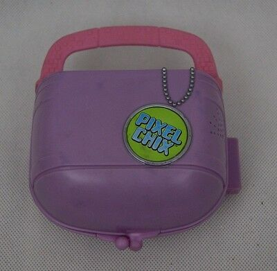 Pixel Chix Electronic Game Toy Mattel 2005 Pink Compact Shopping Centre