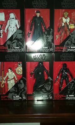 Star Wars The Force Awakens Black Series 6 Inch Wave 4 (In Stock)