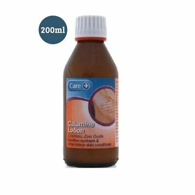 Care Calamine Lotion - Soothes Sunburn & Other Minor Skin Conditions 200ml