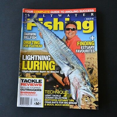 """"""" Saltwater Fishing """" Magazine Issue 65 : Luring / Tackle Selection / Flathead"""