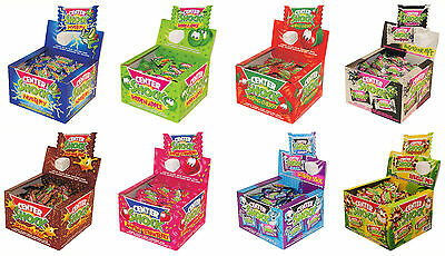 CENTER SHOCK Flavor Mix Sour Liquid Filled Bubble Gum Novelty Sweets